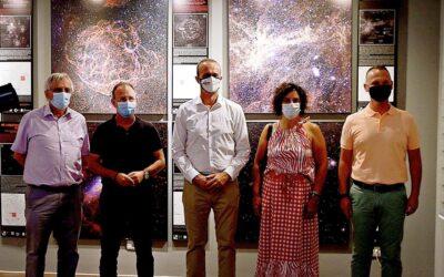 Inauguración de la exposición astrofotográfica «100 Lunas Cuadradas».
