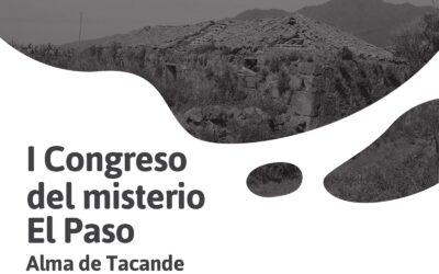 """EL I CONGRESO DEL MISTERIO NACE EN EL PASO DENTRO DEL MARCO FESTIVO DEL """"ALMA DE TACANDE"""""""